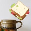 Vinilo cocina sandwich
