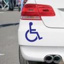 Vinilo silla de ruedas