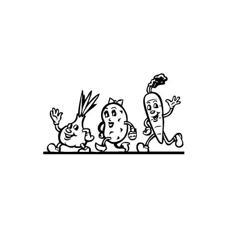 Vinilo dibujo vegetales