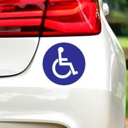 Pegatina discapacitado