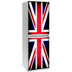 Vinilo Union Jack nevera