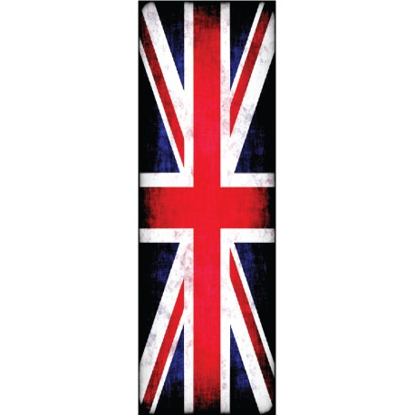 Vinilo Union Jack nevera