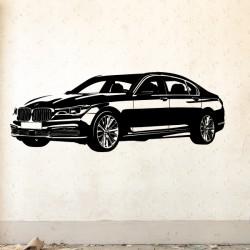 Vinilo silueta BMW