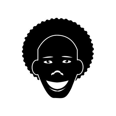 Vinilo hombre africano