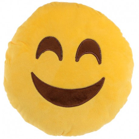 Cojín emoticono sonrisa