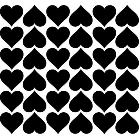 Vinilo stickers corazones
