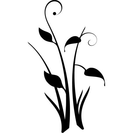 Vinilo juncos florecidos