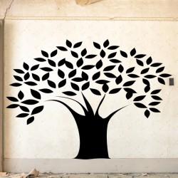 Adhesivo árbol grueso