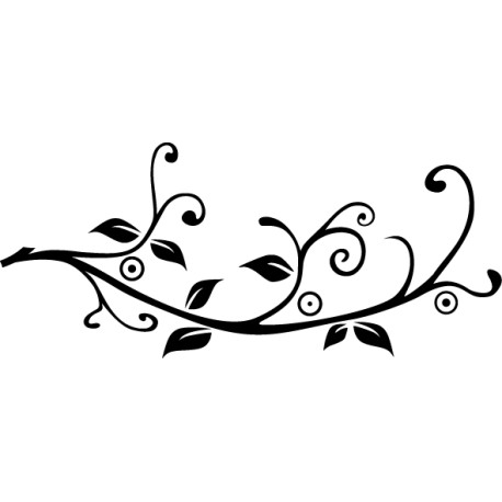Vinilo rama floral
