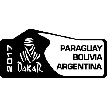 Pegatina Dakar 2017