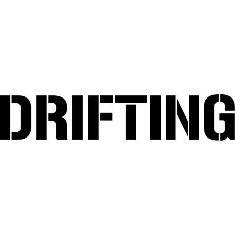 Pegatina Drifting