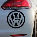 Adhesivo Volkswagen mano