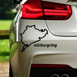 Pegatina Nurburgring completo