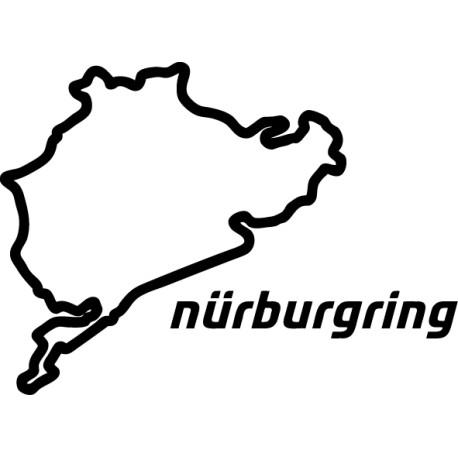 Pegatina Nurburgring Nordschleife