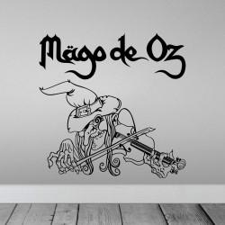 Vinilo Mago de Oz bruja