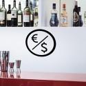Pegatina Euro - Dólares