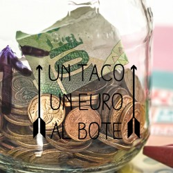 Vinilo bote tacos