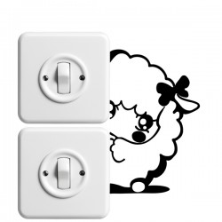 Vinilo interruptor oveja