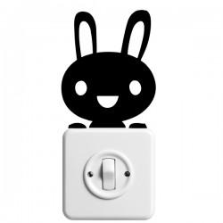 Vinilo interruptor conejo