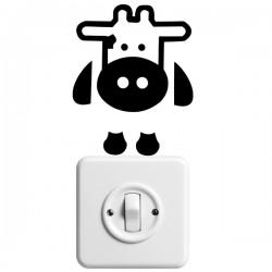Vinilo interruptor vaca