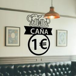 Vinilo caña 1 euro