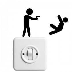 Vinilo interruptores disparo
