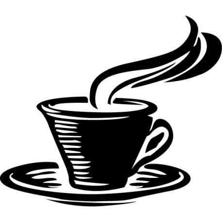 Vinilo taza café