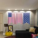 Vinilos banderines Americanos