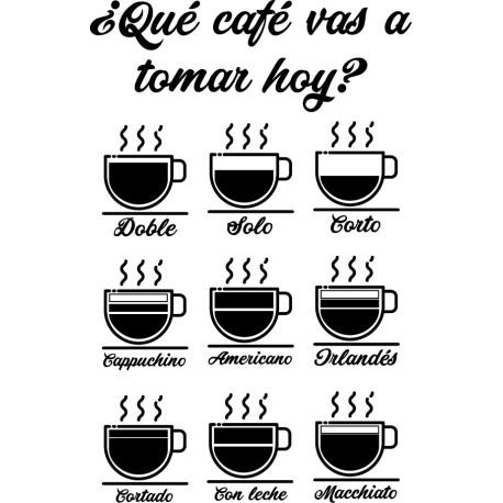 Vinilo tipos café