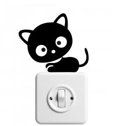 Vinilo interruptor gato