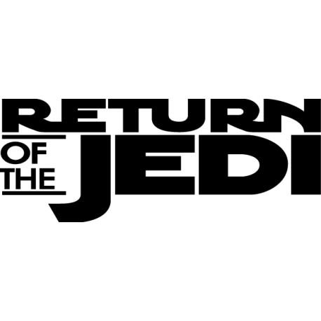 Vinilo adhesivo retorno de Jedi