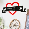 Vinilo photocall boda personalizable