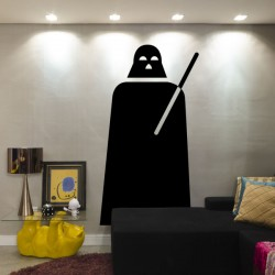 Vinilo silueta Darth Vader