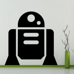 Vinilo adhesivo personaje R2-D2