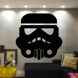 Vinilo cara Darth Vader