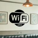 Adhesivo área con wifi