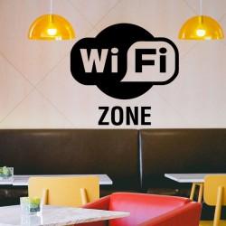 Adhesivo zona wifi