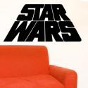 Vinilo logo Star Wars 3d