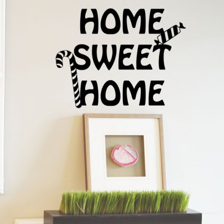 Adhesivo home sweet home