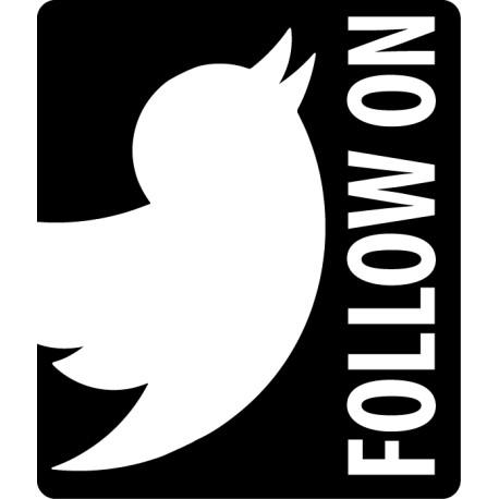 Vinilo icono Twitter