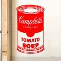 Vinilo lata Campbell's