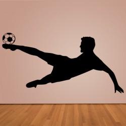 Vinilo futbolista