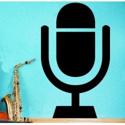 Vinilo micrófono