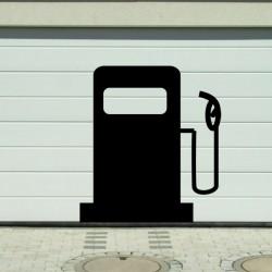 Vinilo surtidor gasolina