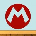 Vinilo logo Mario Bros