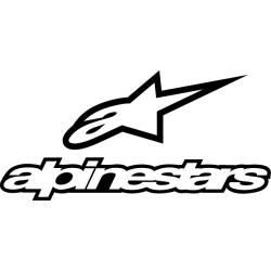Pegatina Alpinestars