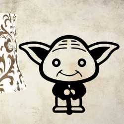 Vinilo decorativo mini Yoda