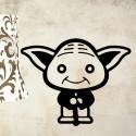 Vinilo decorativo mini Yoda
