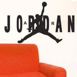 Vinilo decorativo Air Jordan