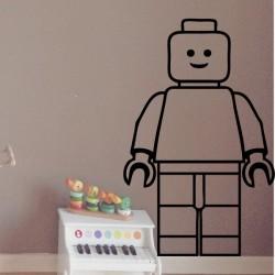 Vinilo infantil figura Lego